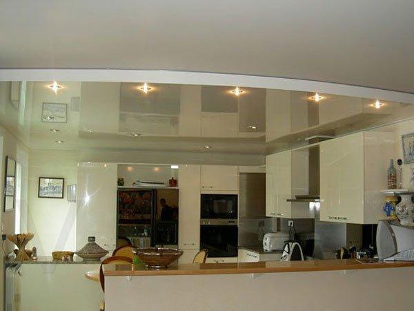 Как отбелить потолок?
