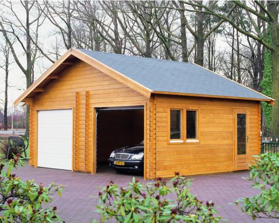 Как построить дешевый гараж