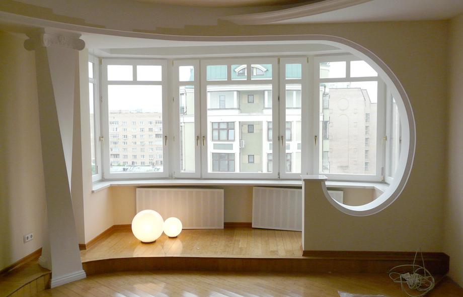 Расширение жилой площади за счёт лоджий и балконов